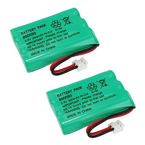 2 Pack Fenzer Cordless Phone Batteries for Lenmar CBD-958 CBD958