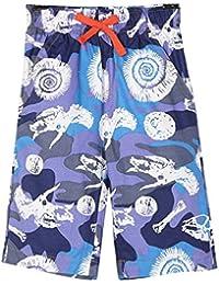 Easonp Boys Cute Denim Solid Color Beach Jean Short
