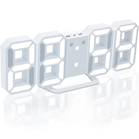 LED Digital reloj despertador, electrónica de pared/reloj de ...