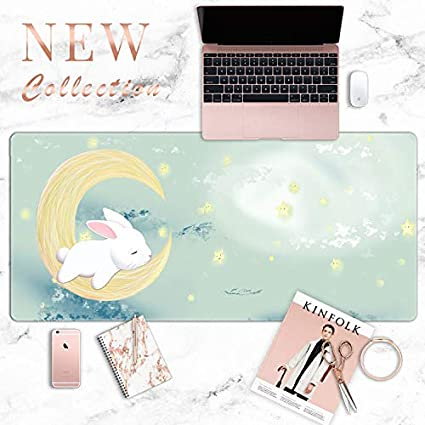 red 300x780mm Cloth Mouse pad Fresh Fabric Mens Mouse pad Waterproof Girl Wrist pad Girl