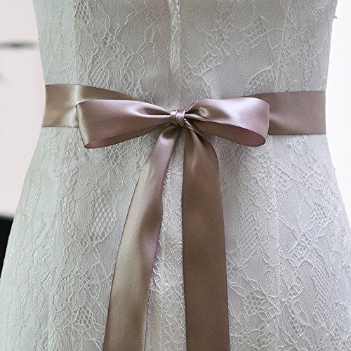 Perlant Des Femmes Azalées Ceintures De Châssis Nuptiale Ceintures De Ceinture De Mariage Pour Robe De Mariée Violette Antique