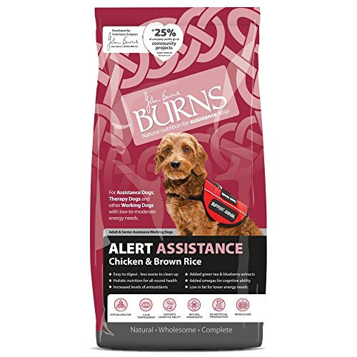Burns Alert Chicken Dry Dog Food 2Kg