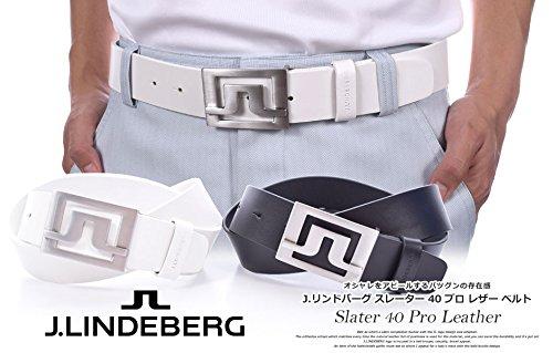 J Lindeberg Slater Belt (J.Lindeberg Men's Slater 40 Pro Leather Golf Belt, Black, 90)