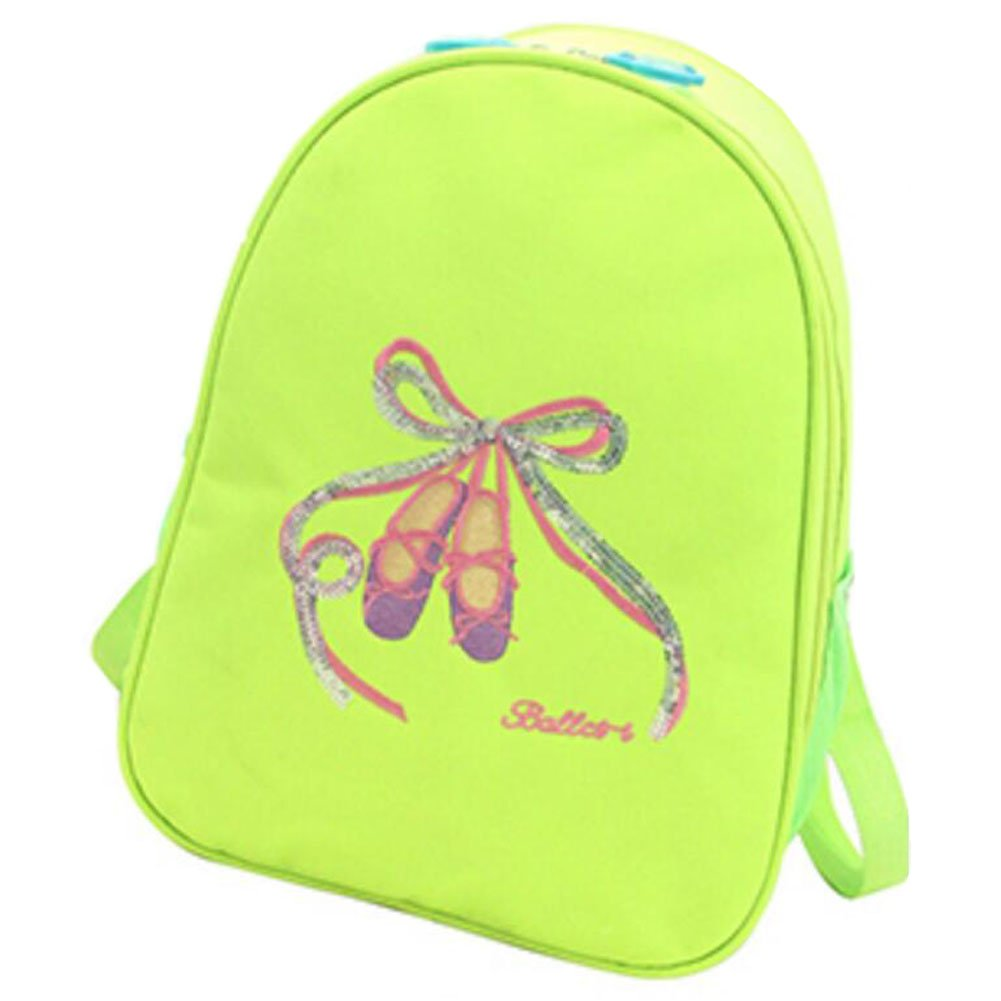 George Jimmy Kids Dance Bags Travel Backpack School Bags Girls Backpacks Fluorescent Green by George Jimmy
