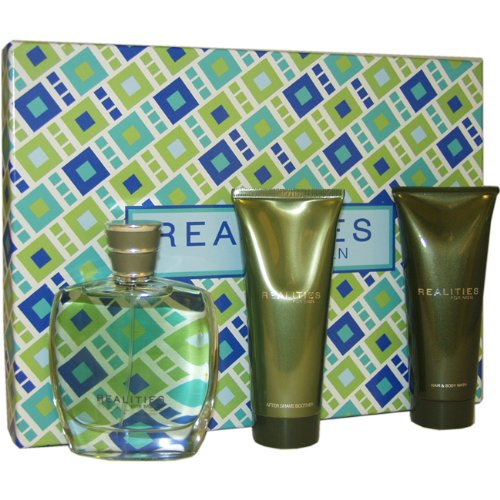 Realities by Liz Claiborne for Men Gift Set