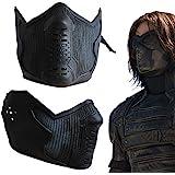 Winter Soldier James Buchanan Bucky Barnes Cosplay Latex Mask by Yancos
