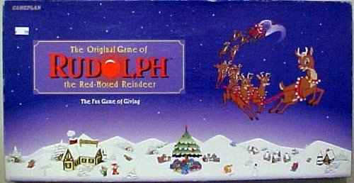 The Original Game of Rudolph the Red-Nosed Reindeer; the Fun Game of Giving by Gameplan