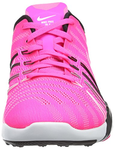 6 Pink Nike Free TR Blast White Black Shoes Womens Training wFP6qttC