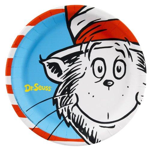 Doctors Plate (Dr Seuss Party Supplies - Dinner Plates (8))