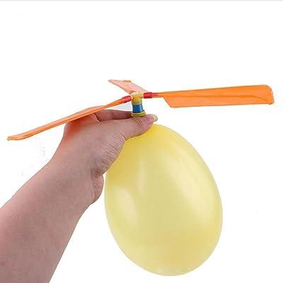 12pièces Ballon Hélicoptère volant Toys, Mml enfant anniversaire Noël fête Sac cadeau