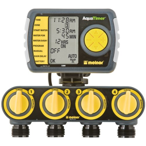 Melnor 4-Zone Digital Water (Sprinkler System Timers)