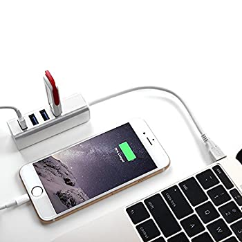 Type-c to USB 3.0 4-Port HUB with Individual Switch