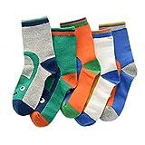 Lovely Kids' Winter Cotton Socks Warm Socks Gift-Box, 5 Pair(4-6 Years) S15-31