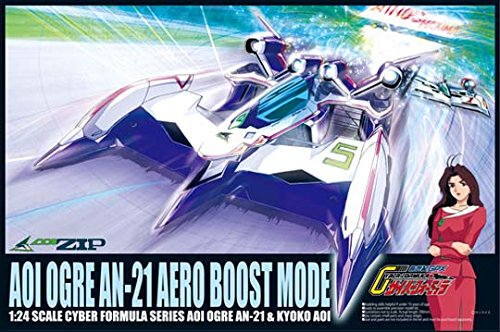 1/24 Cyber ??Formula Series No.04 Aoioga AN-21 aero boost mode