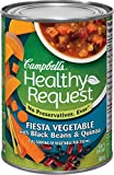 Campbell's Healthy Request Fiesta Vegetable with Black Beans & Quinoa Soup, 540ml