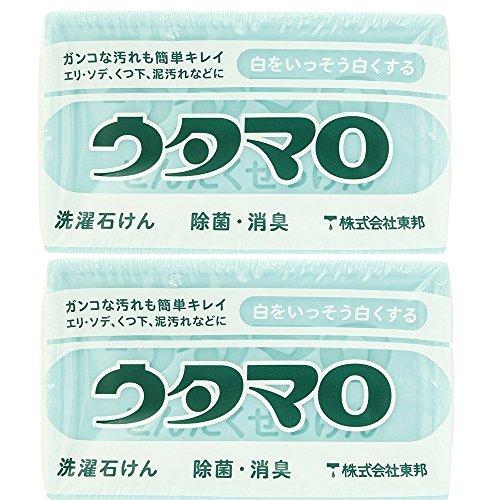 【2개세트】 토호 마로 마호 비누 찌든때 비누 세탁비누