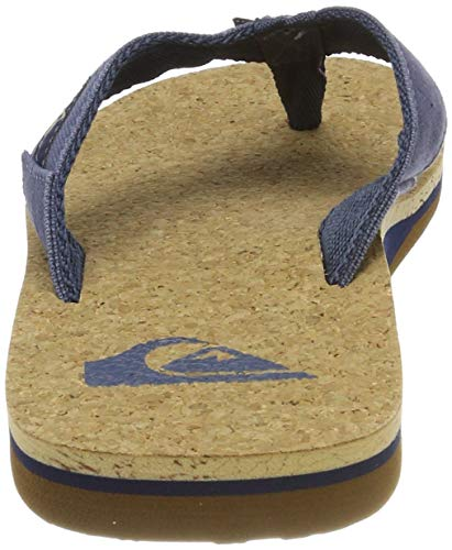 brown Piscina Cork Blu E Men Da Sandals blue Quiksilver For Xbcb Spiaggia Uomo Abyss Scarpe Molokai blue q6SAcwRUx