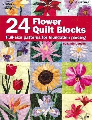 24 Flower Quilt Blocks -