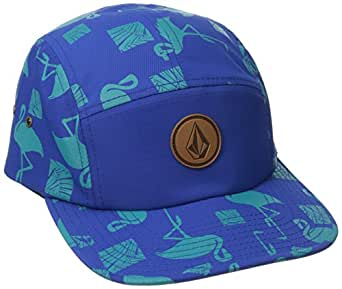 Volcom Men's Killing It 5 Panel Hat, Blue, One Size