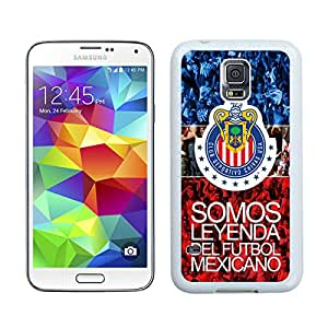 Chivas USA 02 White Hottest Sell Customized Samsung Galaxy S5 I9600 Case