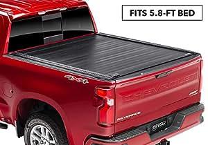Amazon.com: RetraxPRO MX Retractable Truck Bed Tonneau Cover | 80481 | fits Chevy & GMC 5.8' Bed ...