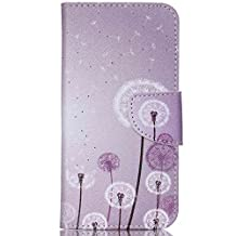 Acer Liquid Jade Z Case,Huamecl Embossed Pattern PU Leather,Wallet Flip Magnetic Detachable Close Lock With Stand up Credit Card Holder Leather Case Cover Holster for Acer Liquid Jade Z(Floret)