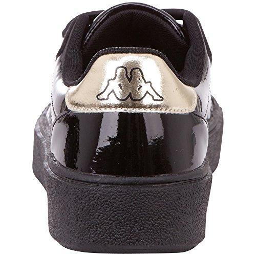 Noir Black be Gold Shine Basses Sneakers Kappa 1145 Meseta PF Femme ZCg8xnO0