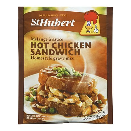 St Hubert Hot Chicken Sandwich Homestyle Gravy Mix 57g 3 packs {Imported From Canada}