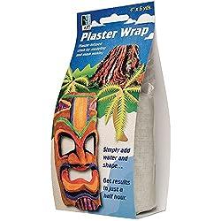 Art Alternatives Plaster Wrap- Gauze Bandage Roll 4in x 5yd