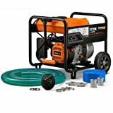Generac 6822, Semi-Trash Water Pump, 5 HP, 2-inch, with Accessory Kit