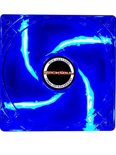 ROCKSOUL 120mm (120x120x25 mm) Blue LED...