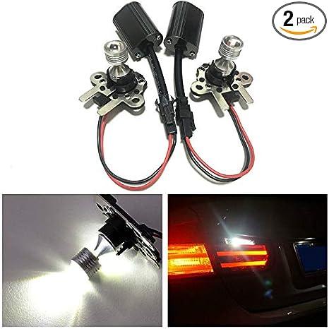 5a99595fcc19 Amazon.com  GFJMC One Pair of PH19W CREE LED Rear Brake Light For Benz R300  R320 R350 R400 R500 R63 Error Free  Automotive