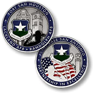 Joint Base San Antonio Challenge Coin
