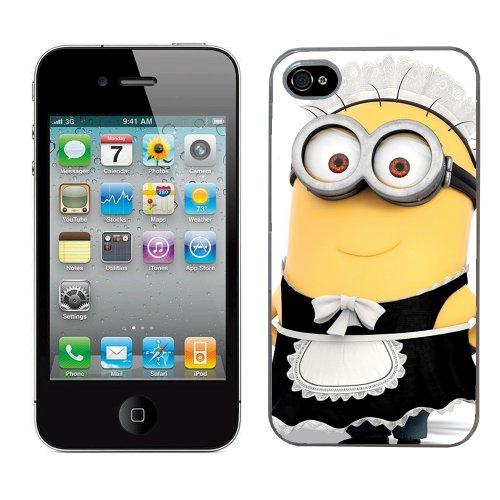 Moi moche et méchant Despicable me film minion cas adapte iphone 4 et 4s couverture coque rigide de protection (8) case pour la apple i phone