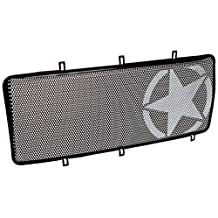 Rugged Ridge 12034.21 Spartan Grille Insert for Jeep JK Wrangler (Star)