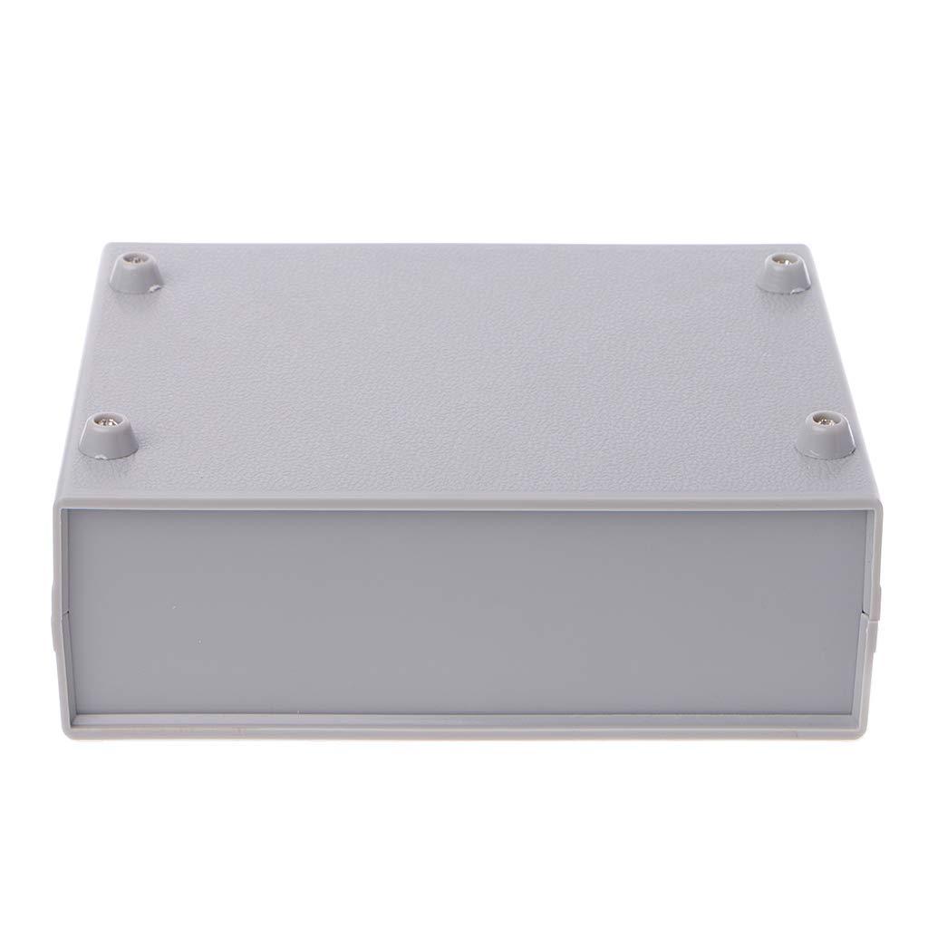130 x 170 x 55 mm Scatola di giunzione in plastica per progetti fai da te scatola elettronica per strumenti