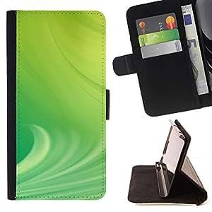 Momo Phone Case / Flip Funda de Cuero Case Cover - Naturaleza Hermosa Forrest Verde 28 - Apple Iphone 5C