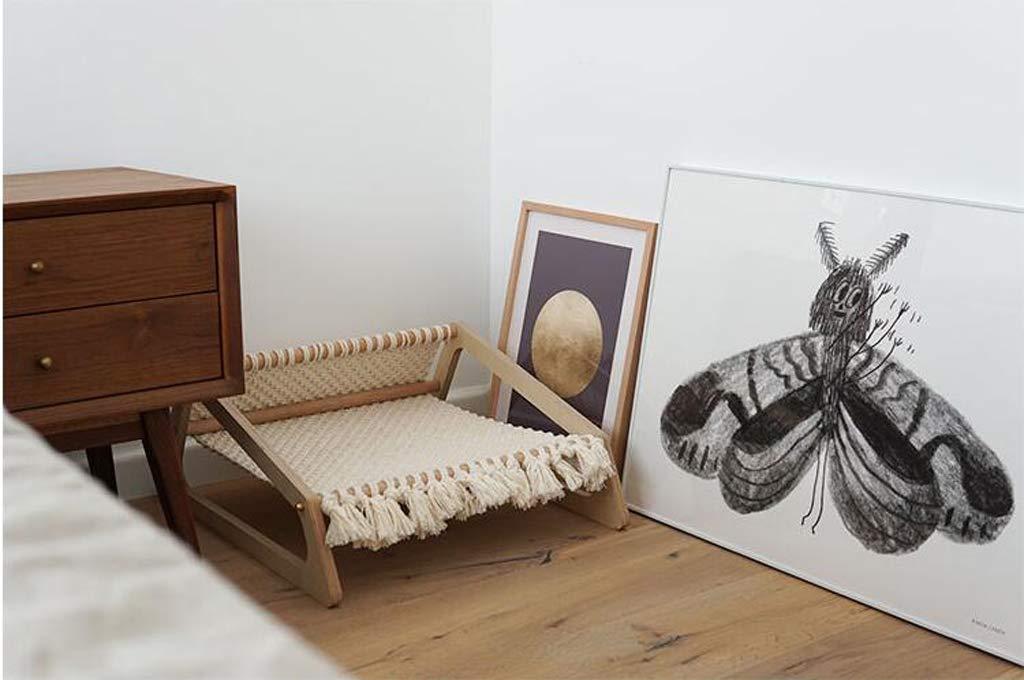 Nwn Letto per per per Animali Domestici in Legno Lounge Chair Cane casa lettiera Amaca Quattro Stagioni Universale ced0bb