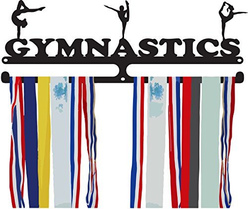 Gymnastics Medal Hanger - Three Female Poses