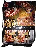Kobe Bon Cabe (Boncabe) Sambal Tabur - Sprinkle Chili Flakes Level 15 super Hot 24-ct, 168 Gram