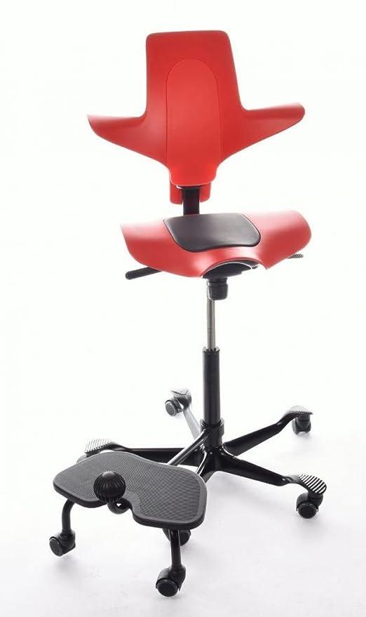 Hag Sedie Per Ufficio.Hag Capisco Puls 8010 Sedia Da Ufficio Stepup Colore Rosso