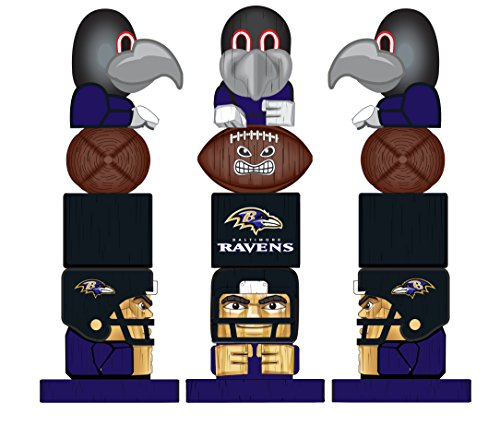 Team Sports America NFL Baltimore Ravens Tiki -