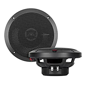 "4) NEW Rockford Fosgate P1650 6.5"" 2-Way Full Range Car Audio Coaxial Speakers"