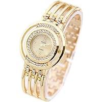 Pocciol Wristwatch,Fashion Strap Bracelet Watch Round Dial Bracelet Table Women s Watches