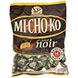 French Mi-Cho-Ko, Soft Caramels Coated In Dark Chocolate La Pie Qui Chante-Mi-Cho-Ko, Caramels Tendres Enrobes De Chocolat Noir La Pie Qui Chante