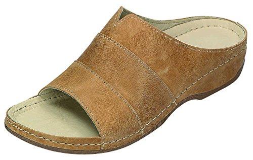 MICCOS Shoes Clogs, Pantoletten D.Pantolette Natur
