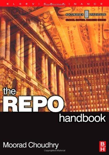 REPO Handbook (Securities Institute Global Capital Markets) Pdf