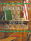 Introduction to Law and the Legal System, Grilliot, Harold J., 0395746663