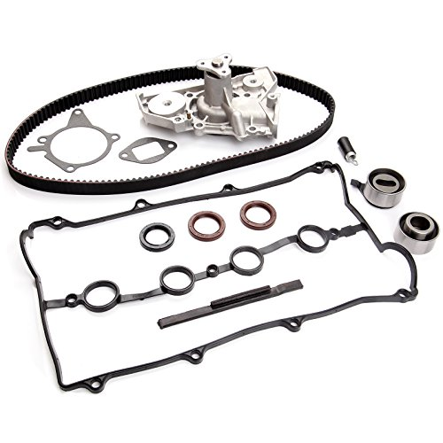 ECCPP New Timing Belt Water Pump Kit Fit 1990-1993 Mazda Miata 1.6L ENG. CODE