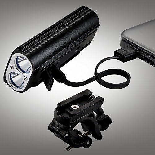 Universal Bike Handle Bar Holder Mounting For Flashlight  Torch Black P0CA